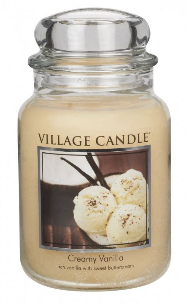 Village Candle Creamy Vanilla (Select Size)